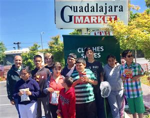 Workability students gain life skills at local market